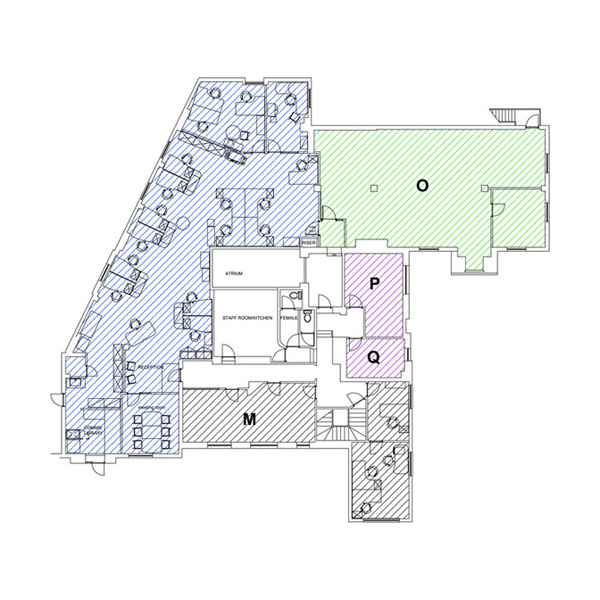 Tanshire Park Elm House First Floor Plan