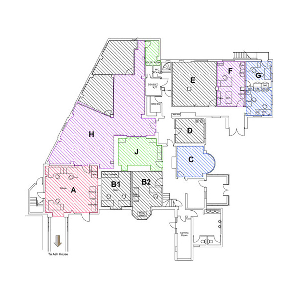 Tanshire Park Ground Floor Plan