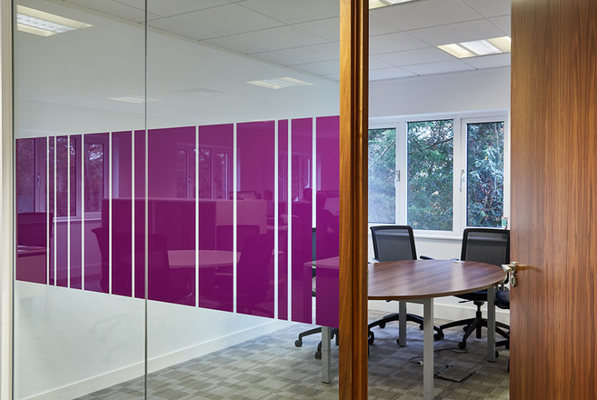 Meeting room in offices at Tanshire park