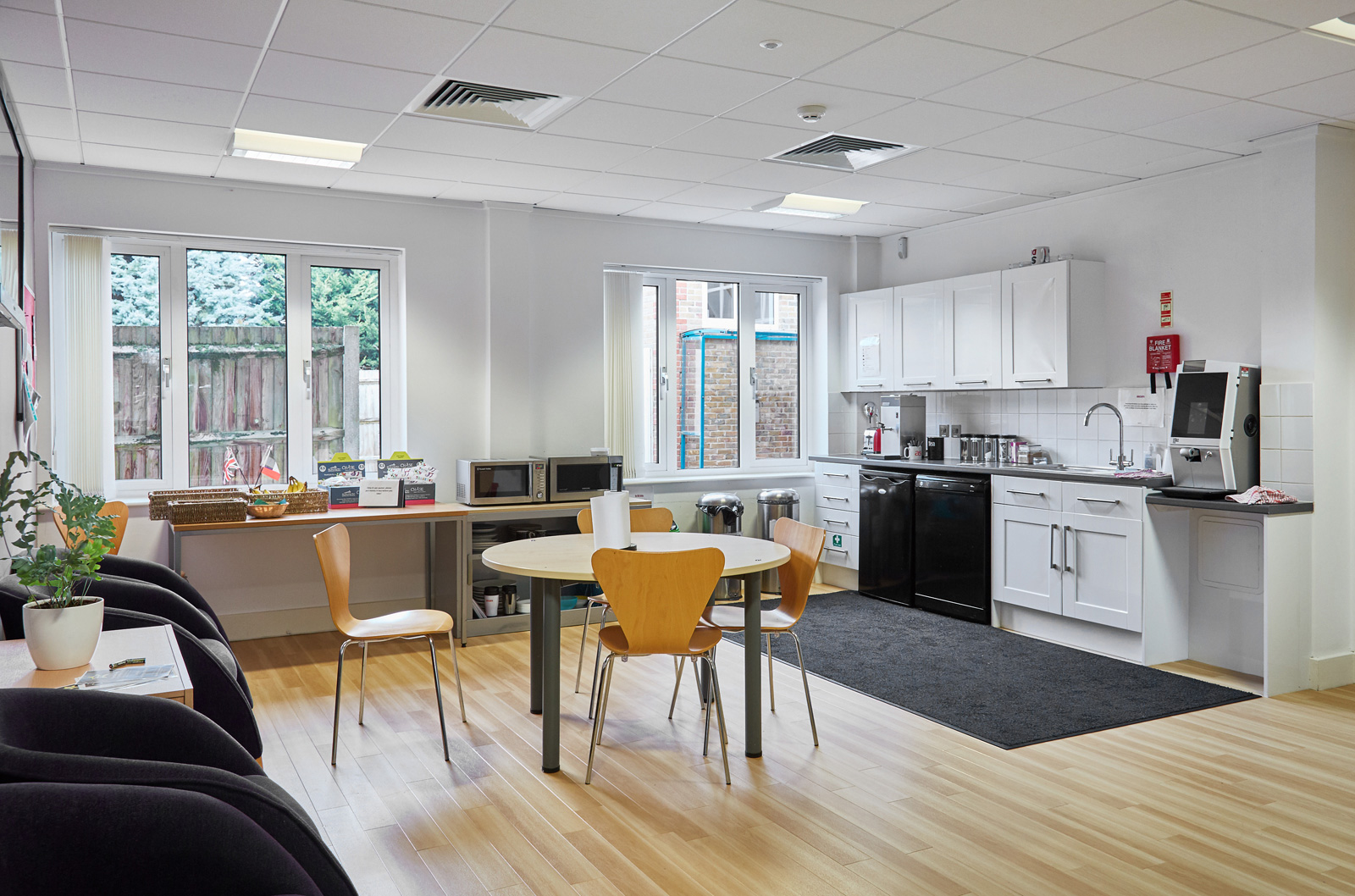Office Kitchen at Tanshire Park