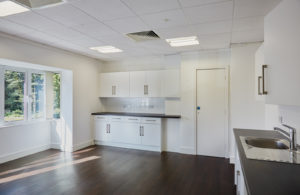 Kitchen on site of Tanshire park