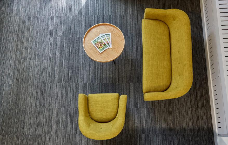 Birdseye views of chairs