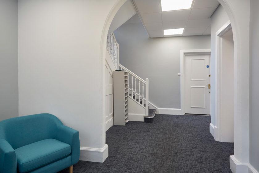 Hallway in Elm House