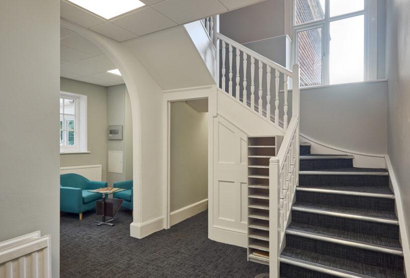 Stairway in Elm House