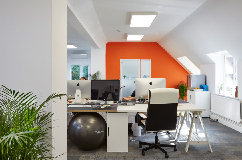 Innovation Visual office in Elm House