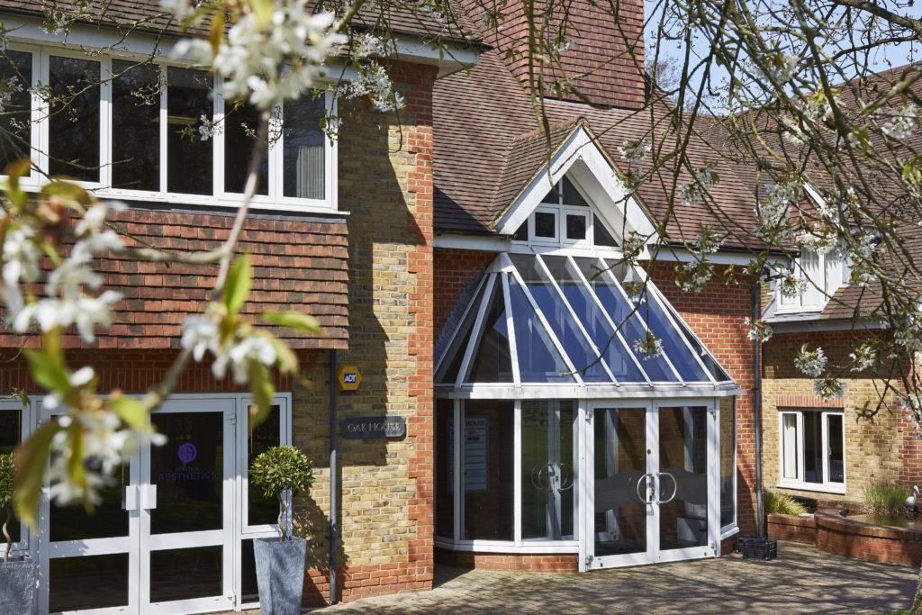 Oak House Entrance at Tanshire Park