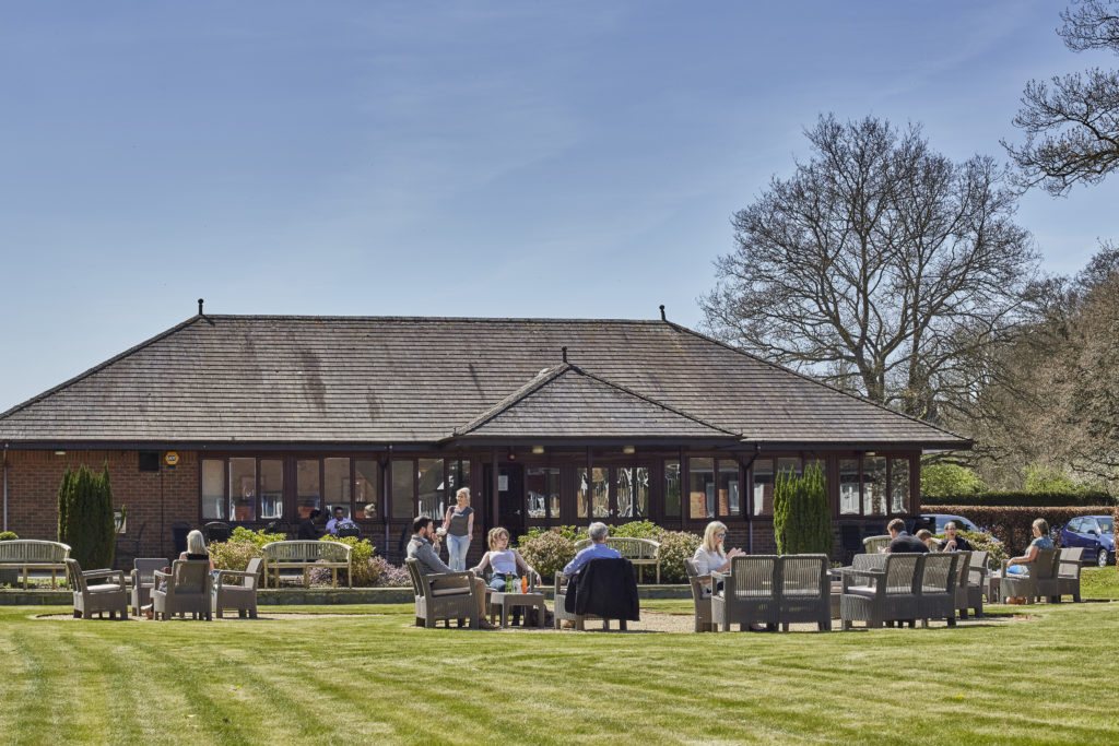 The Pavilion Cafe at Tanshire Park