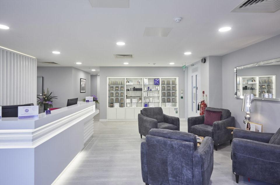 Health & Aesthetics Reception Desk
