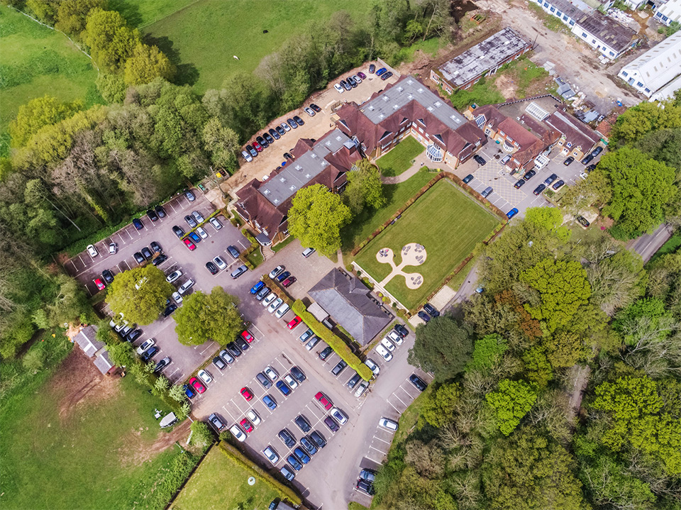 Tanshire Park Aerial View