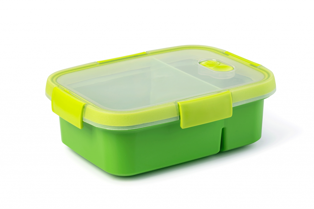 Tupperware box for packaging-free workplace lunches