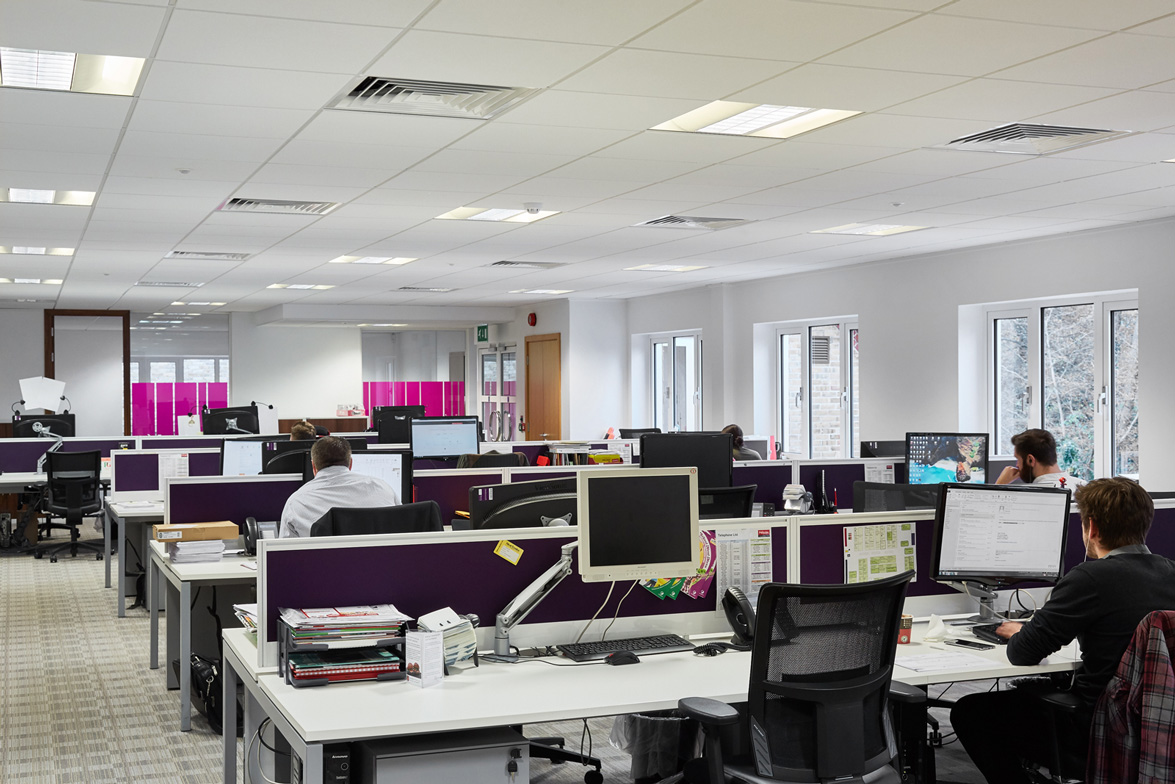 Tanshire Park Ash House 1st floor office space to rent open plan space