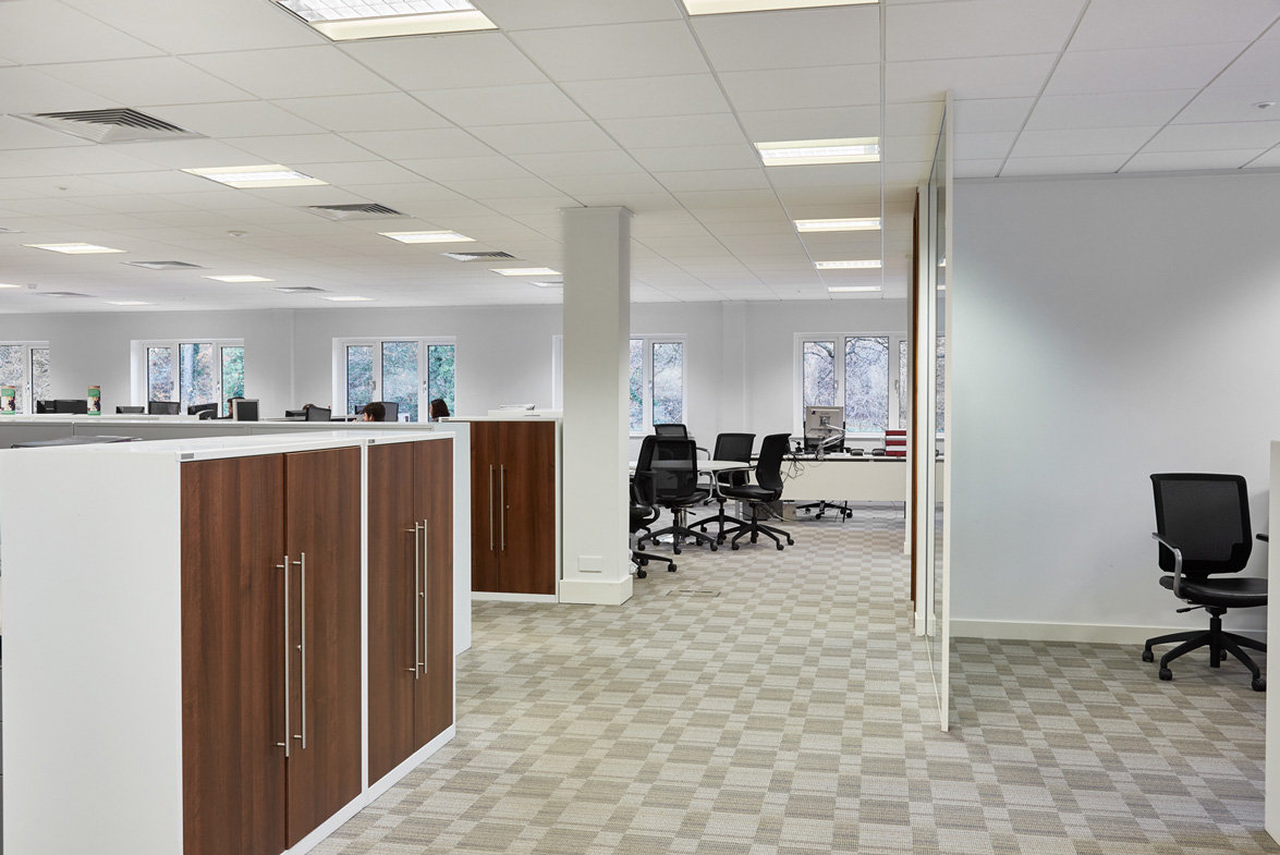 Tanshire Park Ash House 1st floor office space to rent open social distancing space