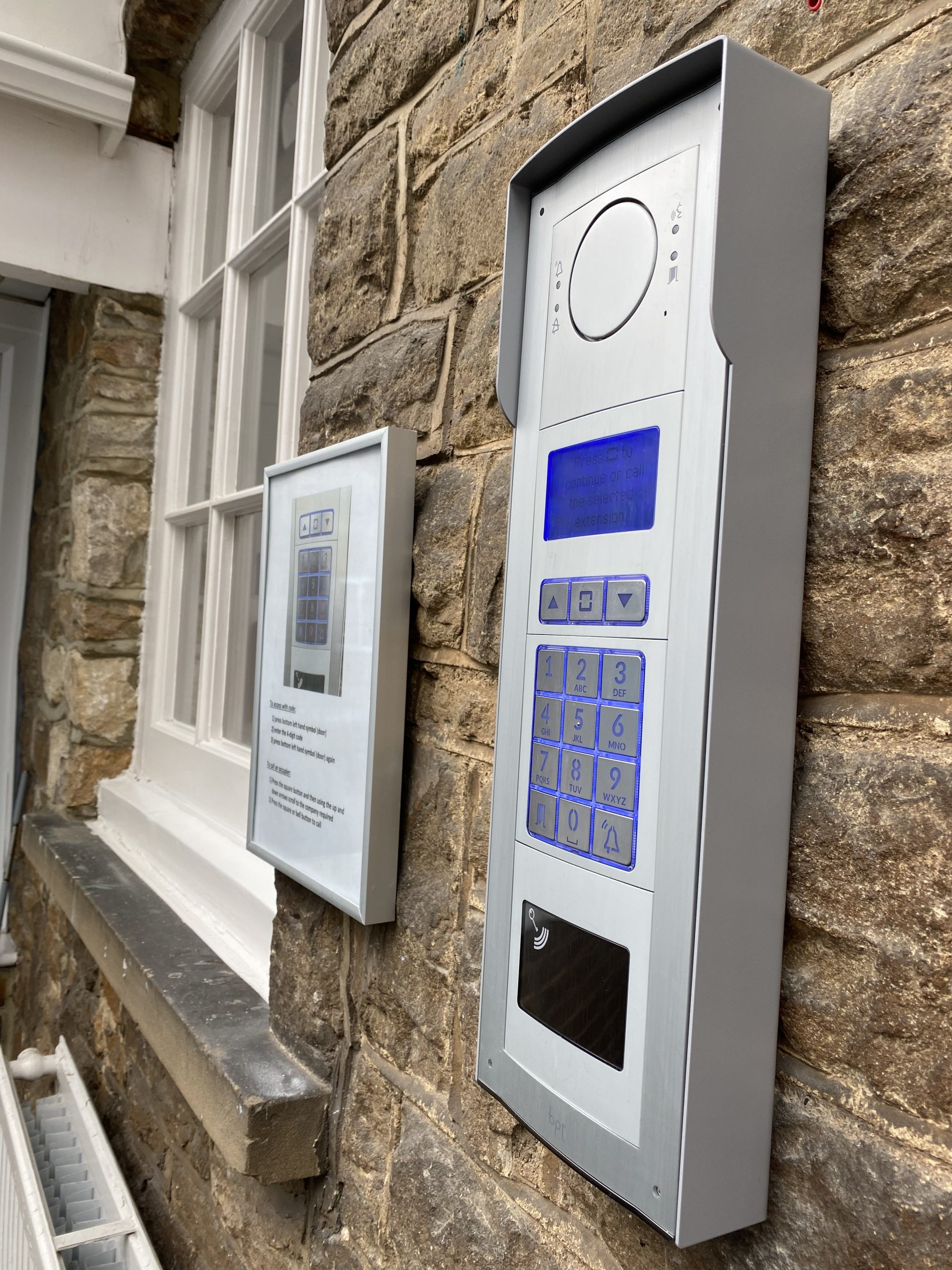 Tanshire Park touchless key locking system to reduce the spread of COVID-19