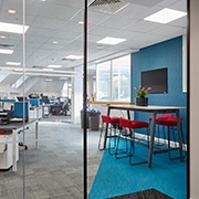 Grade A office space open-plan area at Tanshire Park