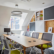Grade A office space meeting room at Tanshire Park