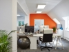 innovation visual offices with modern and clean desks