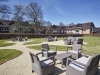 tanshire park seating area with modern surroundings